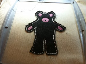 raggy applique