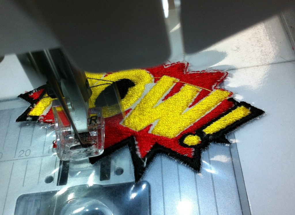 Embrodery Patch Making