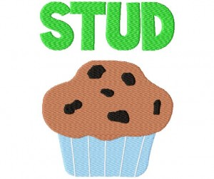 Studd Muffin Free Embroidery Design