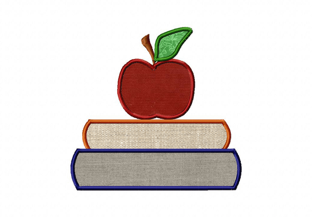 Free books and apple machine embroidery applique daily for Apple design book