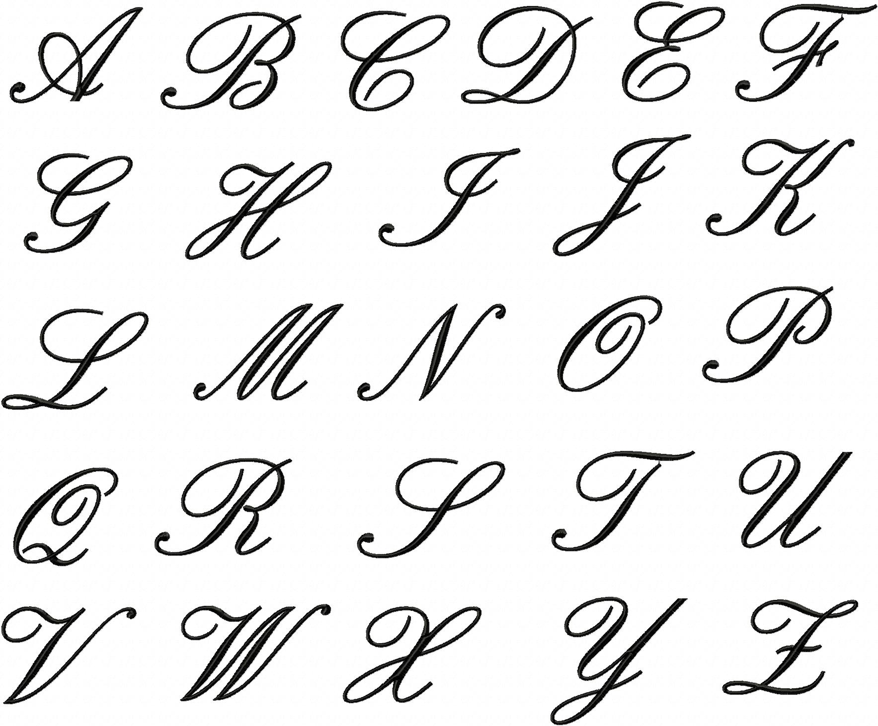 Free Embroidery Font Set Page 3 Daily