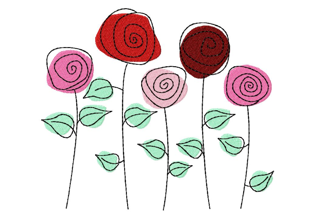Garden Embroidery Designs through the garden embroidery design collection Get