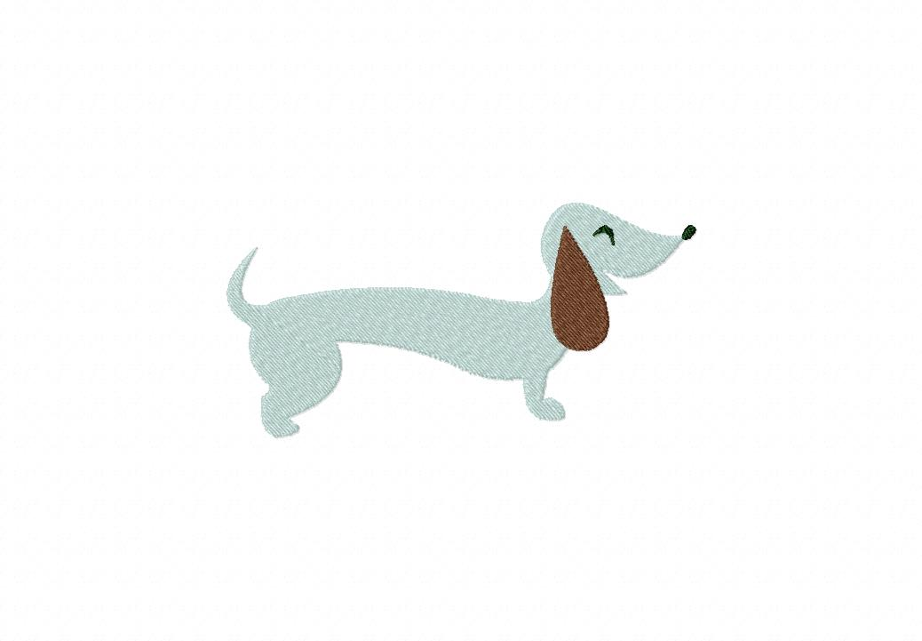 Gallery For gt Dachshund Outline Pattern