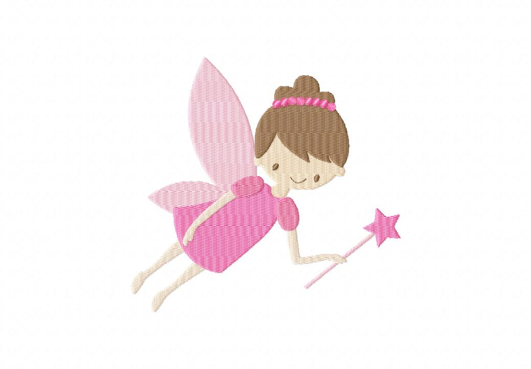 Free Magical Fairy Machine Embroidery Design | Daily Embroidery