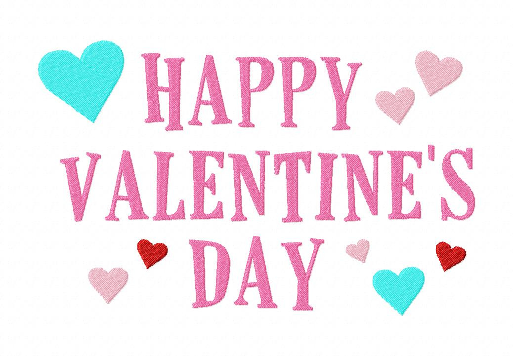 Free Happy Valentine S Machine Embroidery Design Daily Embroidery
