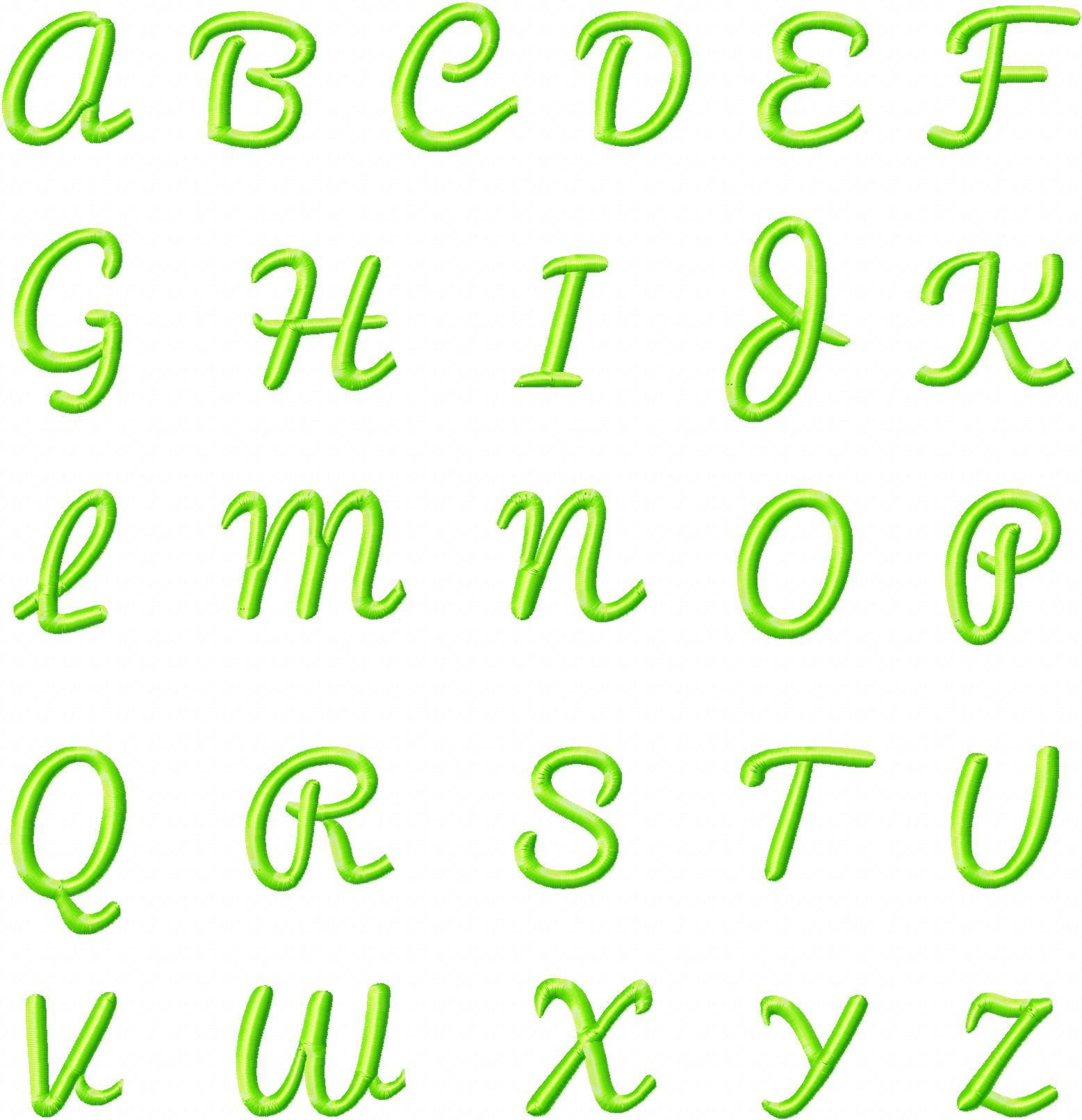 Free pacifico machine embroidery font set daily