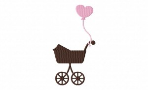 BabyCarriage Stitched 5_5 Inch