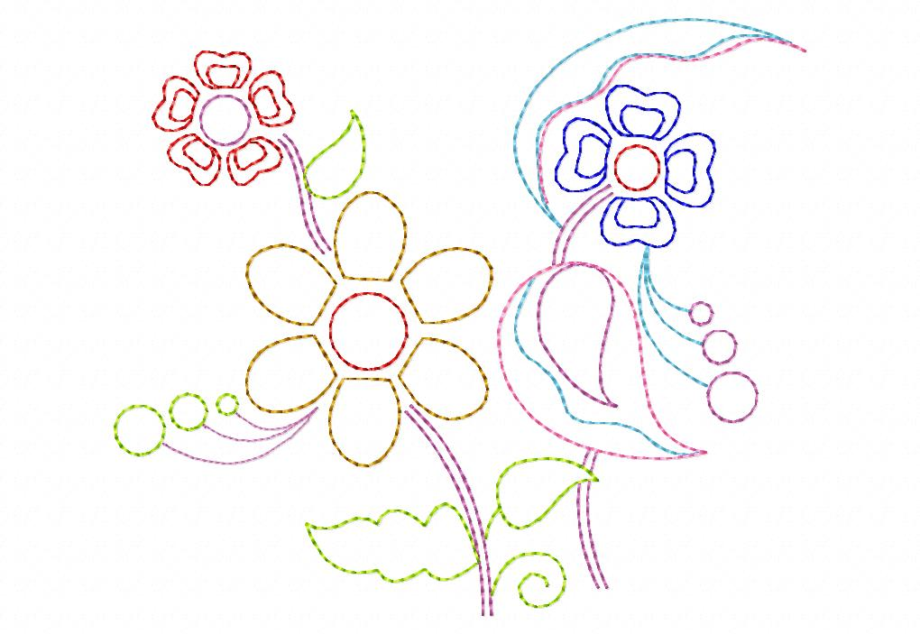 Decorative Floral Page 2 Daily Embroidery