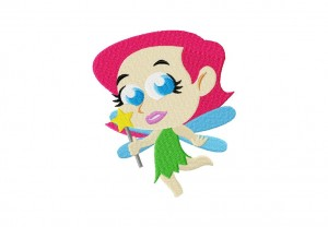 Cartoon Fairy Stitched 5_5 Inch