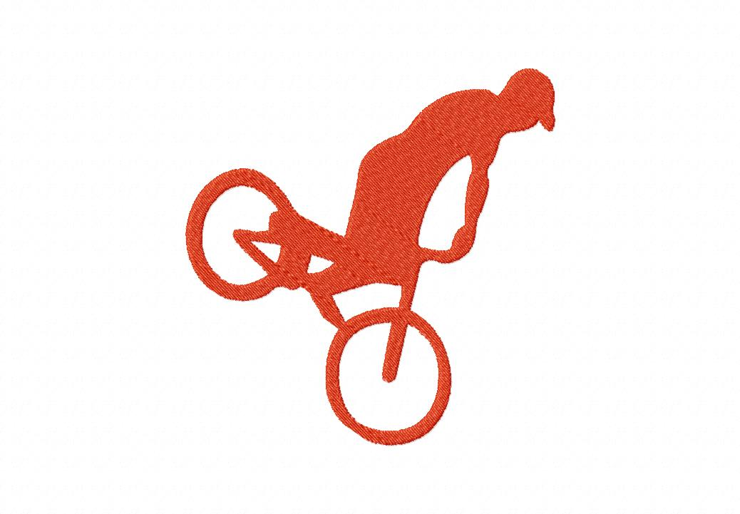 Freestyle Bike Machine Embroidery Design for Gold Members Only ...
