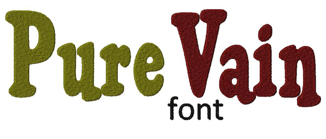Free Pure Vain Machine Embroidery Font Set – Daily Embroidery