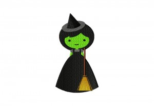 Bad Witch Stitched 5_5 Inch