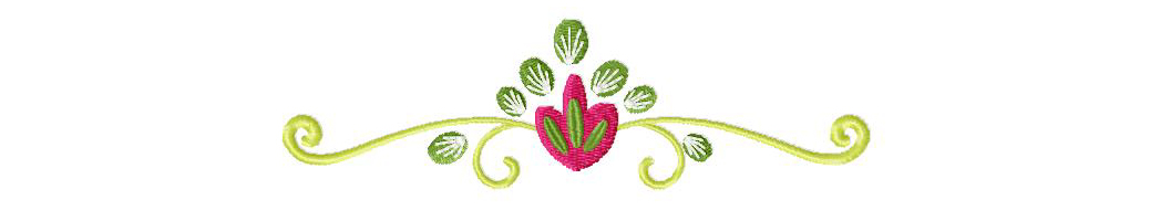 Border Flower Stitched 5_5
