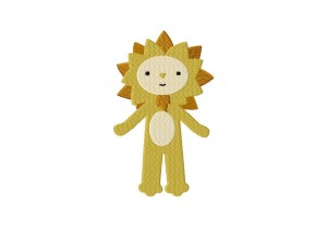 Lion Man Stitched 5_5 Inch