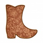 Machine Applique Cowboy Boots