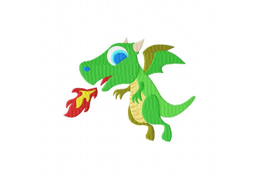 Dragon Machine Embroidery Design