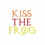 Font055KissTheFrogFROG example