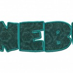 Junebug Machine Applique Font Set