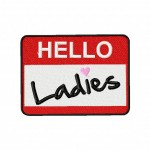 Hello Ladies Machine Embroidery Design