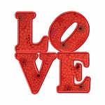 Love Machine Embroidery Includes Both Applique and Fill Stitch