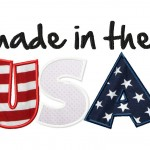 Made in the USA Applique 6X10 Hoop