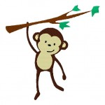 Monkey-on-Branch-Stitched-5_5-Inch
