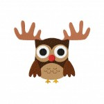 Red Nosed Reindeer Owl