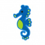 Seahorse Includes Both Applique and Fill Stitch