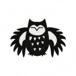 Shadow Owl Stitched 5_5 Inch