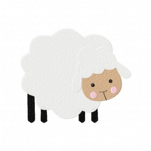 Sheep Machine Embroidery Design