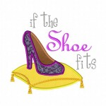 If the Shoe Fits Machine Applique Design
