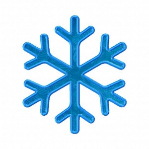 Snowflake Machine Embroidery Design Includes Applique and Fill Stitch