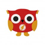 Super Speed Owl Machine Embroidery Design