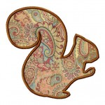 The Squirrel Applique Design