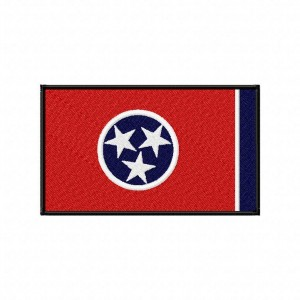 Tennessee State Flag Machine Embroidery Design