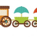 Toy Train Stitched 5_5 Inch