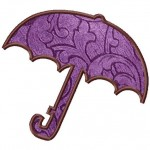 Umbrella Machine Applique
