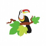 Hornbill Stitched 5_5 Inch2