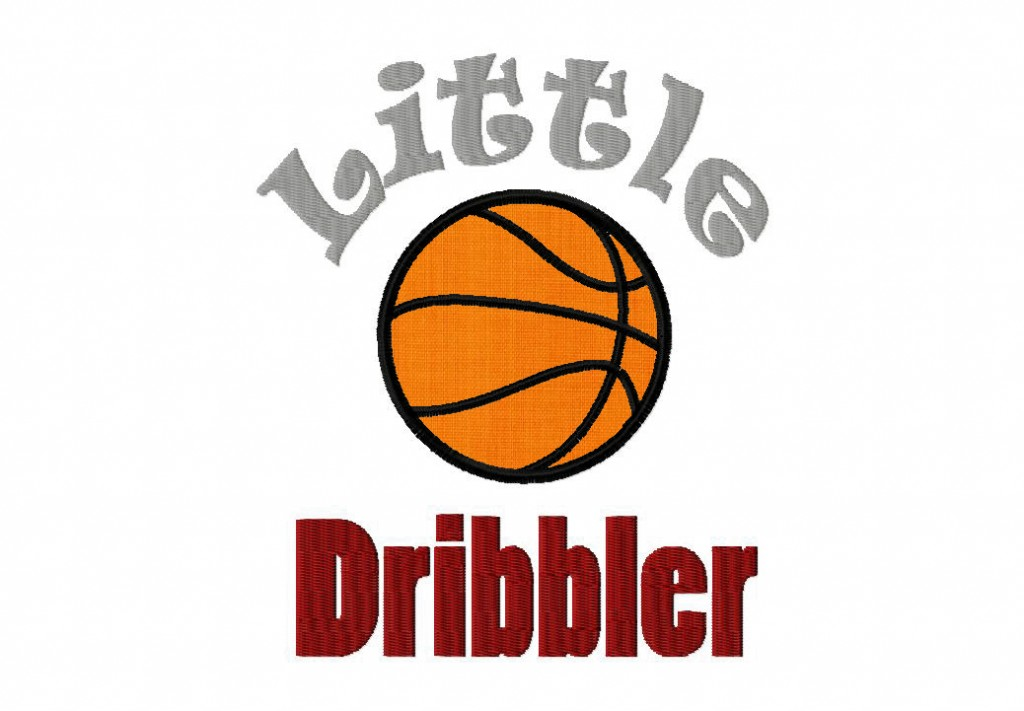 Little Dribbler Includes Both Applique And Filled Daily