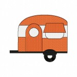 Orange Camper Stitched 5_5 Inch