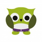 Owl Hulky Stitched 5_5 Inch