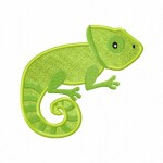 Chameleon Applique