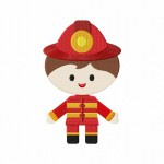Firefighter Boy Stitched 5_5 Inch