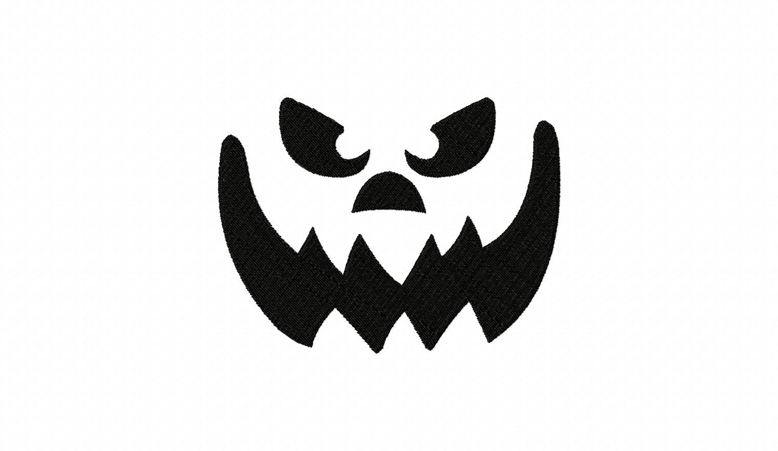 The gallery for scary pumpkin faces designs for Evil pumpkin face template