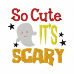 So Cute Scary 6X10 Hoop