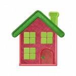 Dainty House Applique 5_5 Inch