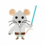 Luke Mousewalker Stitched 5_5 Inch