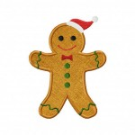 SantaGingerbreadApplique