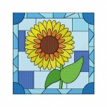 Stained Glass Sunflower-5_5
