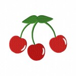 Sweet Red Cherries 5_5 Inch